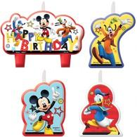 Mickey On The Go BDay Candles