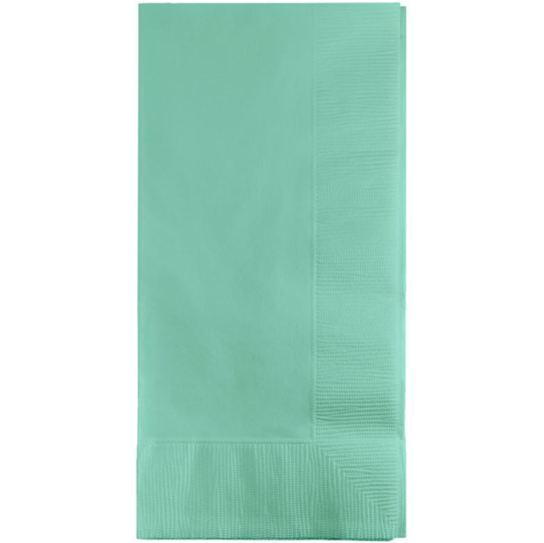 Fresh Mint Green Dinner Napkins 40cm x 40cm 1/8 Fold 2 Ply - Pack of 50