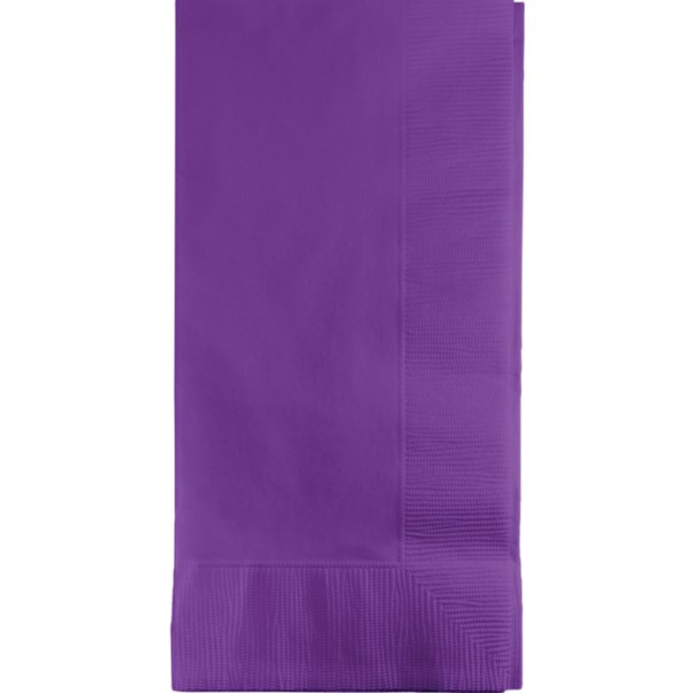 Amethyst Purple Dinner Napkins 40cm x 40cm 1/8 Fold 2 Ply - Pack of 50