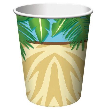 Safari Adventure Cups Hot/Cold (266ml) Paper - Pack of 8