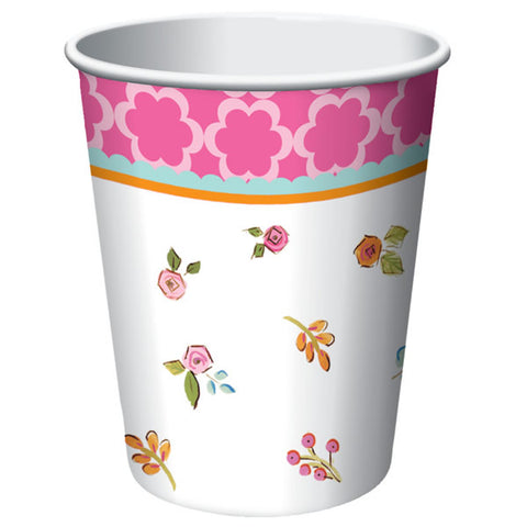 Tea Time Cups Paper (266ml) - Pack of 8