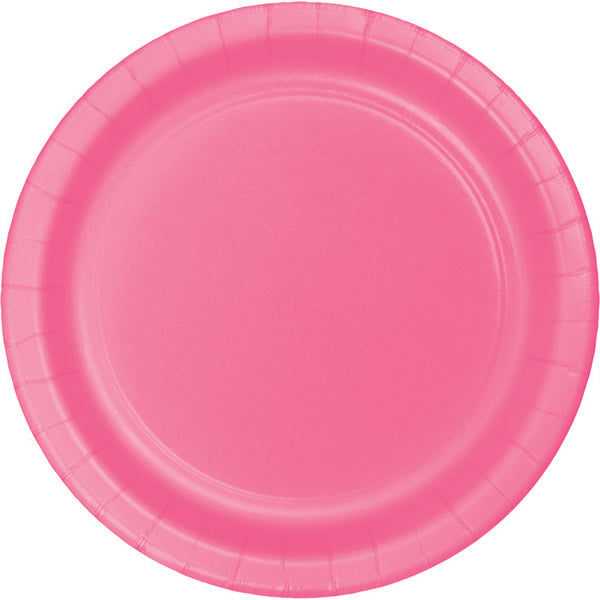 Celebrations Candy Pink Lunch Plates Paper 17cm - Pack of 8