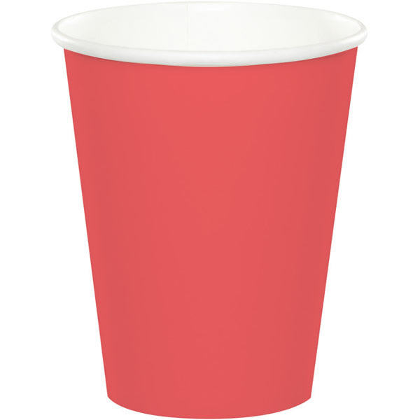 Coral Cups Paper Hot /Cold 266ml - Pack of 24