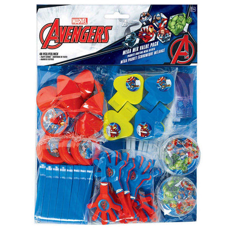 Avengers Epic Mega Mix Favors Value Pack 48 Pieces