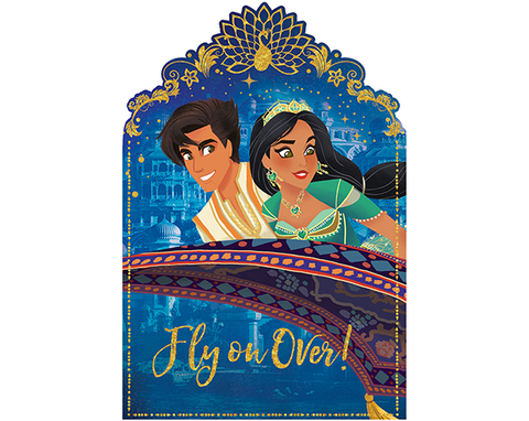 Aladdin Postcard Invitation 8 pack