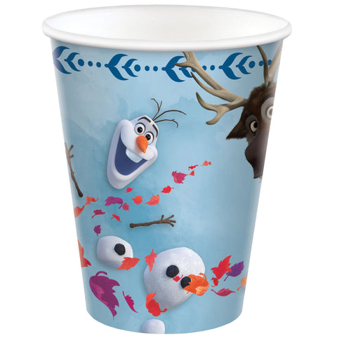 Frozen 2 9oz/266ml Cup x 8