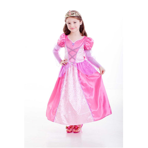 Deluxe Rose Princess Girl (L) 6-8 years