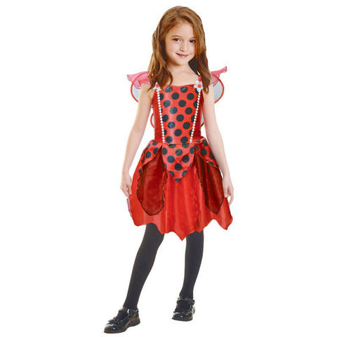 Lady Bug Girl (Large) 6-8 yrs