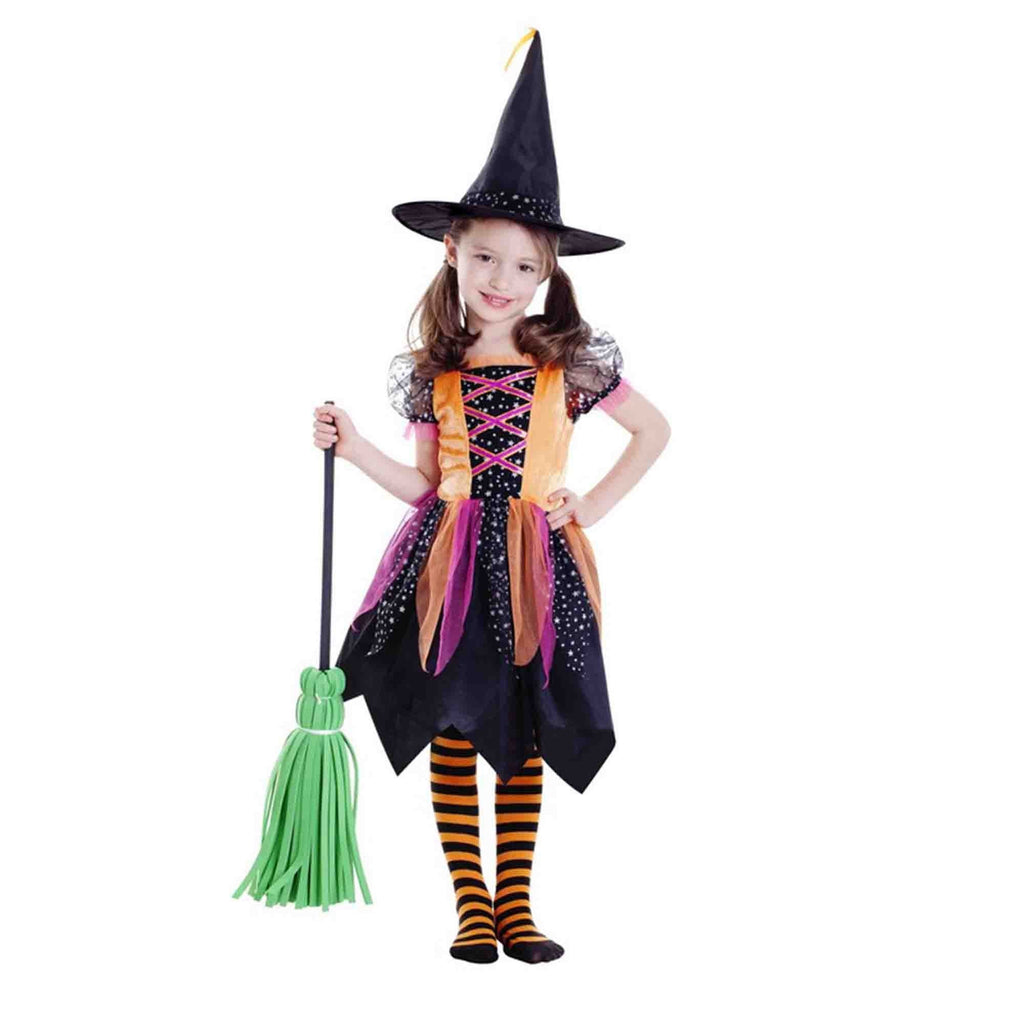Deluxe Witch Girl (Large) 6-8 yrs