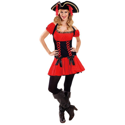 Deluxe Pirate Girl (Small)  - Adult
