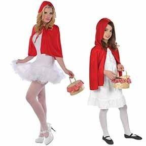 Fairytale Little Red Ridinghood Cape Red