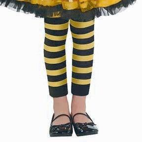 Bumblebee stripped stocking