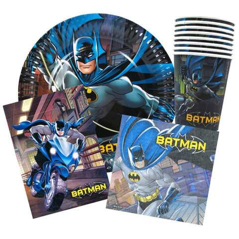 Batman Party Pack 40 Piece,