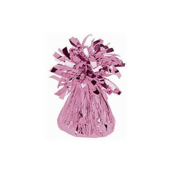 Balloon Weight Pink Mylar PER EACH 150g - Each