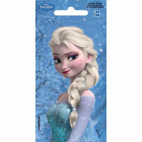 Frozen Jumbo Sticker Favors PK24 14cm x 7cm - Pack of 24