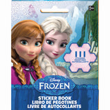 Frozen Stickers Book Favor 9 Sticker Sheets with Assorted Stickers On Each - Each