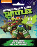 Teenage Mutant Ninja Turtles Stickers Book Favor 9 Sticker Sheets with Assorted Stickers On Each - Each