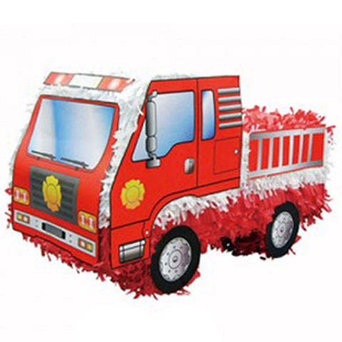 Pinata Fire Engine (Not suitable for Express Post due to size of product) - Each