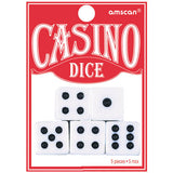 Place Your Bets Playing Dice  - Pack of 5