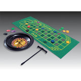 Place Your Bets Roulette Casino Set Contains 1 x 25cm Roulette Wheel, Felt Layout, 180 Chips, Two Steel Balls & Rake. - Each
