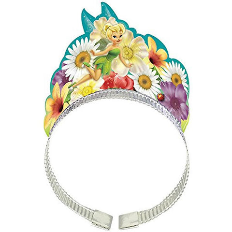 Tinker Bell Tiara Headbands & Best Friends Fairies Glittered - Pack of 8