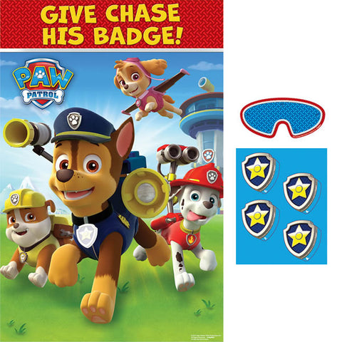 Paw Patrol Give Chase His Badge! Game
