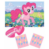 My Little Pony Friendship Party Game Includes: 1 Poster, 8 Stickers & 1 Paper Blindfold - Each