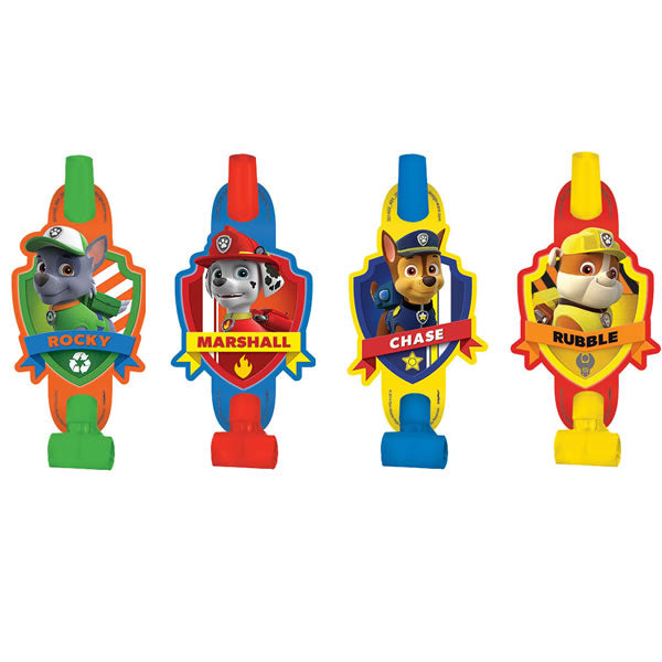 Paw Patrol Blowouts 8 Pack