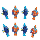Finding Dory Blowouts & Medallions Assorted Designs - Pack of 8