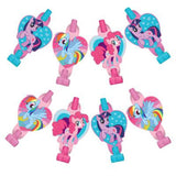 My Little Pony Blowouts & Medallions Cardboard - Pack of 8