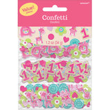 One Wild Girl Confetti Bulk Value Pack 1st Birthday Cardboard (Choking Hazard, not suitable for children under 3) - 34 Grams