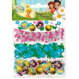 Tinker Bell Confetti & Best Friends Fairies Value Pack Foil & Cardboard - 34 Grams