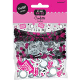 Confetti Team Bride Value Pack Foil & Cardboard (Choking Hazard, not suitable for children under 3) - 34 Grams