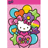 Hello Kitty Rainbow Loot Bags 23cm x 16cm - Pack of 8