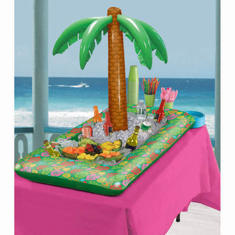 Inflatable Palm Tree Buffet Cooler,