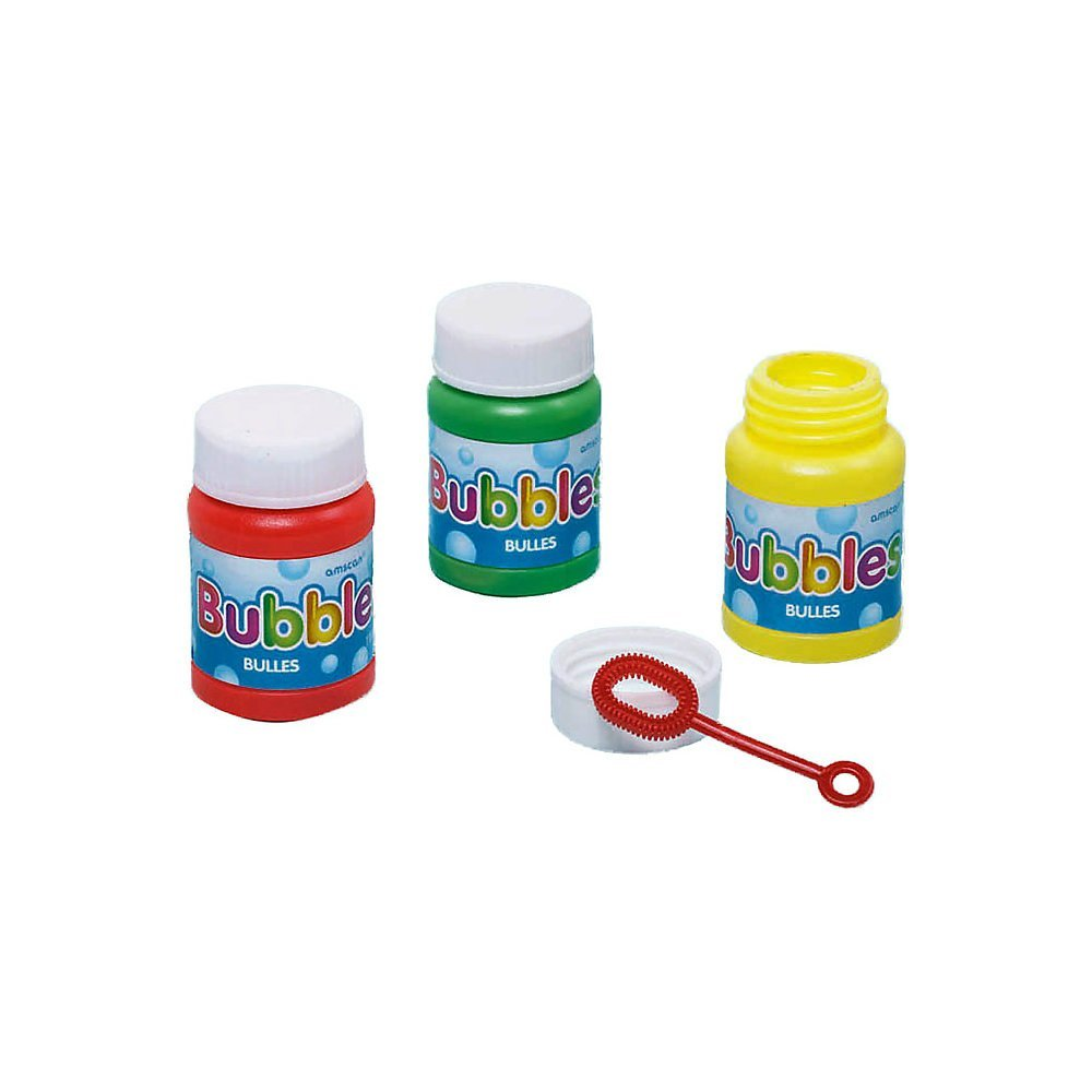 Bubbles Party 29.5ml each - Assorted Colours  - Pack of 6