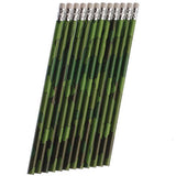 Camouflage Pencils Favors  - Pack of 12