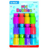 Bubbles Mini 17.7ml each - Assorted Colours  - Pack of 12