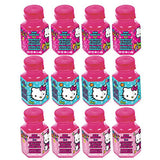 Hello Kitty Rainbow Mini Bubbles Favors 18ml - Pack of 12