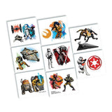 Star Wars Rebels Tattoos 16 pack (1 Perforated Sheet) - Each