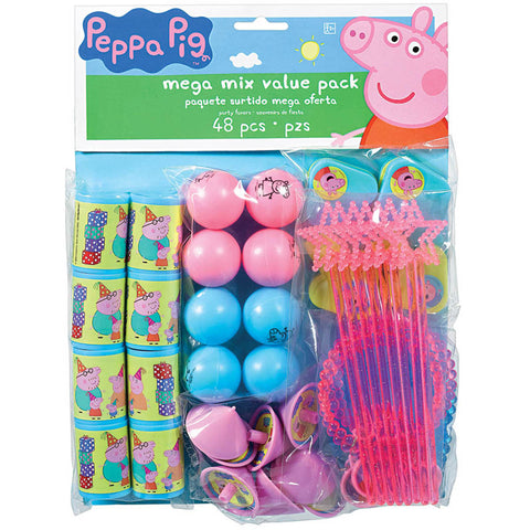 Peppa Pig Mega Mix Value Pack 48 Pieces