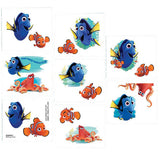 Finding Dory Tattoo's (16 Tattoo's per Pack) - Each