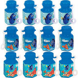 Finding Dory Mini Bubbles Favors Assorted Designs 18ml each - Pack of 12