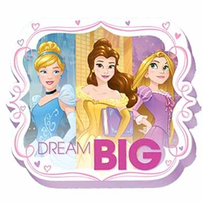 Princess Dream Big Note Pad 8cm 50 Sheets - Each