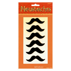 Moustaches Fiesta Self-Adhesive