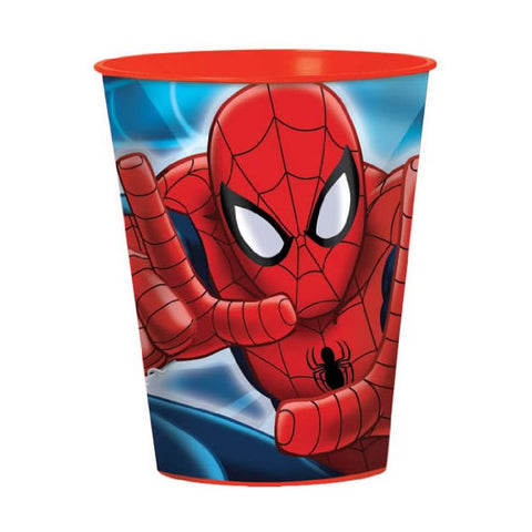 Spiderman Plastic Souvenir Cup 473ml - PROMO DEAL - Each