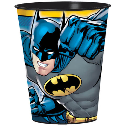 Batman Plastic Souvenir Cup 473ml - Each