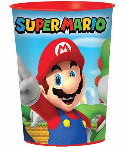 Super Mario Brothers Plastic Souvenir Cup 473ml - Each