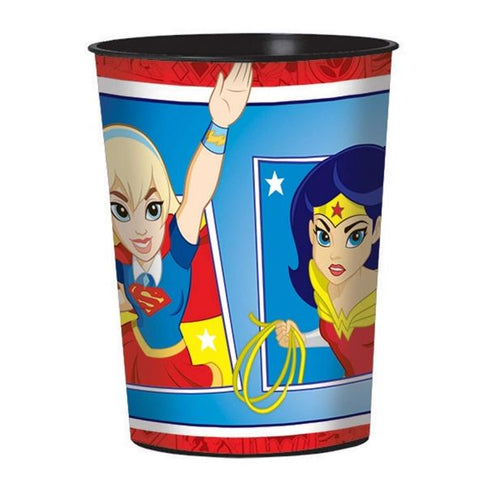 Super Hero Girls Plastic Souvenir Cup 473ml - Each