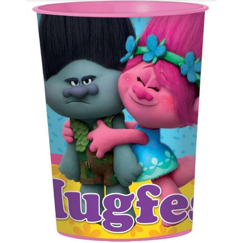 Trolls Souvenir Favor Cup Plastic 473ml - Each